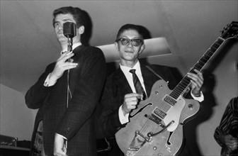 Eddy Mitchell et Jacques Dutronc, 1965
