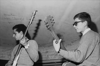 Aldo Martinez et Jacques Dutronc, 1964