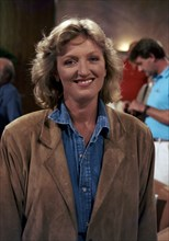 """Charlotte de Tuckheim sur le plateau de l'émission """"Dessinez c'est gagné"""" (1989)"""