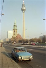 Berlin après la chute du Mur, en novembre 1989