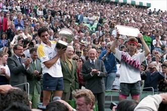 Finale du tournoi de Roland-Garros en 1990
