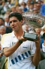 Andrés Gomez, tournoi de Roland-Garros 1990