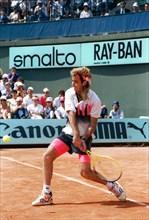 Andre Agassi, tournoi de Roland-Garros 1990