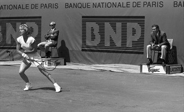 Chris Evert, tournoi de Roland-Garros 1984