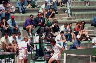 Jimmy Arias, tournoi de Roland-Garros 1990