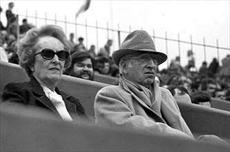 René Lacoste et Simone Thion de La Chaume, 1978