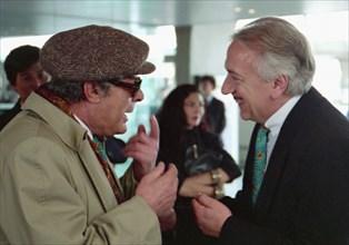 Marcello Mastroianni et Jean-Pierre Cassel, 1994