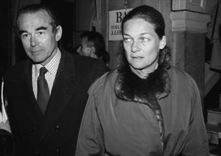 Robert et Elisabeth Badinter, 1985