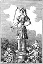 Freya, deesse de la fertilite-fecondite