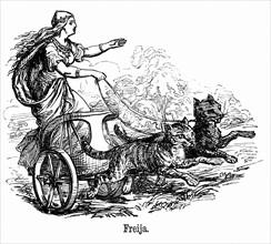 Freya, deesse de la fertilite-fecondite dans la mythologie scandinave