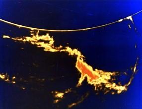 Solar flare - X-ray image