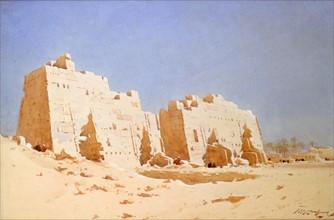 Lamplough, Le Huitième pylône à Karnak