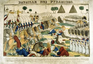 Battle of the Pyramids, 21 July 1798