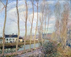 Sisley, Le canal du Loing
