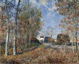 Sisley, Un coin de bois aux Sablons