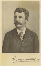 Portrait de Guy de Maupassant