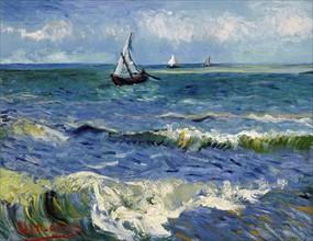 Van Gogh, Paysage marin aux Saintes-Marie-de-la-Mer