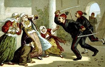 Massacre d'Arménie par les Turcs en 1894-1896. Massacre d'Héraklion (Crête)