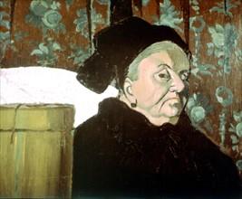 Bernard, La grand-mère de l'artiste