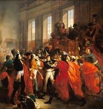 Bouchot, Bonaparte au Conseil des Cinq Cents à Saint-Cloud