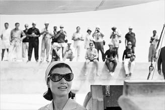 Jackie Kennedy et les paparazzi, 1962