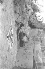 Jackie Kennedy. Eté 1962. Vacances à Ravello (Italie).