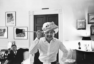 Oleg Cassini et John Kennedy