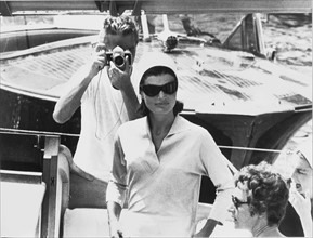 Jackie Kennedy et son photographe - 1962