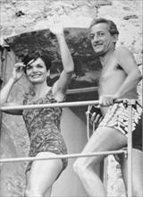 Jackie Kennedy et Benno Graziani, 1962