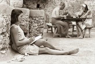 Jackie Kennedy. Eté 1962. Vacances à Ravello (Italie)