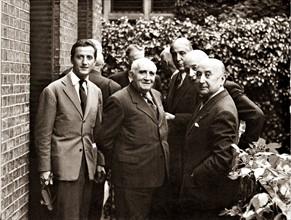 Graziani, André François-Poncet, Paul Claudel, Henri Mondor, Maurice Garçon