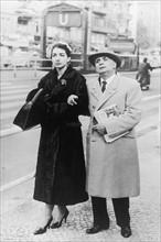 Maria Callas et Giovanni Meneghini à Berlin