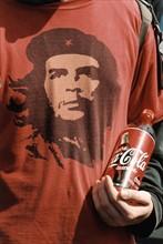 Tee-shirt à l'effigie d'Ernesto Che Guevara