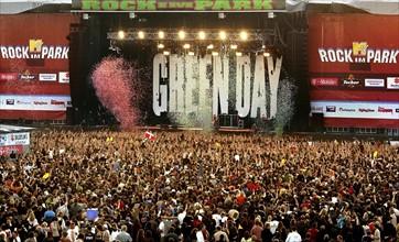 Concert de Green Dau au festival Rock Im Park