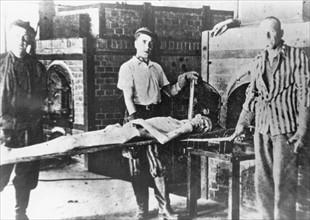 KZ Dachau, à la libération du camp