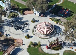 """Vue aérienne du ranch """"Neverland"""" de Michael Jackson"""