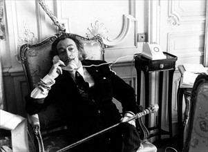 Portrait de Salvador Dali, 1970