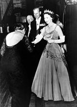 Elisabeth II, le Prince Philip et Maria Callas