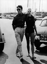 Brigitte Bardot et Jacques Charrier
