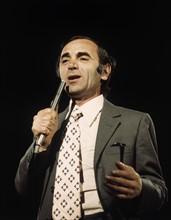 Portrait de Charles Aznavour