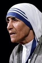 Mutter Teresa - Ordensschwester, Albanien - *26.08.1910-05.09.1997+