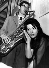Barney Wilen et Juliette Gréco