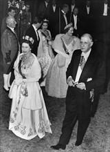 Le général de Gaulle en visite officielle en Angleterre