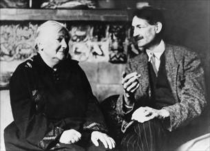 Clara Zetkin et Henri Barbusse