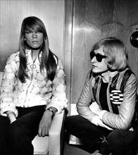 Françoise Hardy et Michel Polnareff (1967)
