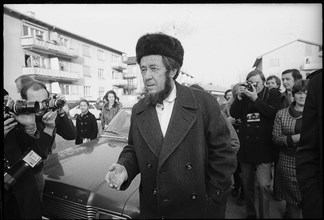 Alexandre Soljenitsyne. 1974