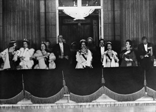 Charles de Gaulle en visite officielle en Grande-Bretagne, 1960
