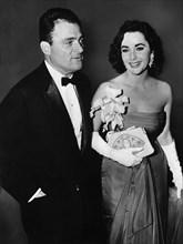 Liz Taylor et Michael Todd, 1957