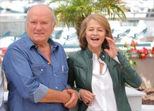 Peter Lindbergh et Charlotte Rampling, 2011