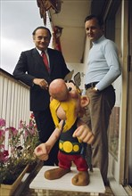 René Goscinny et Albert Uderzo, 1970